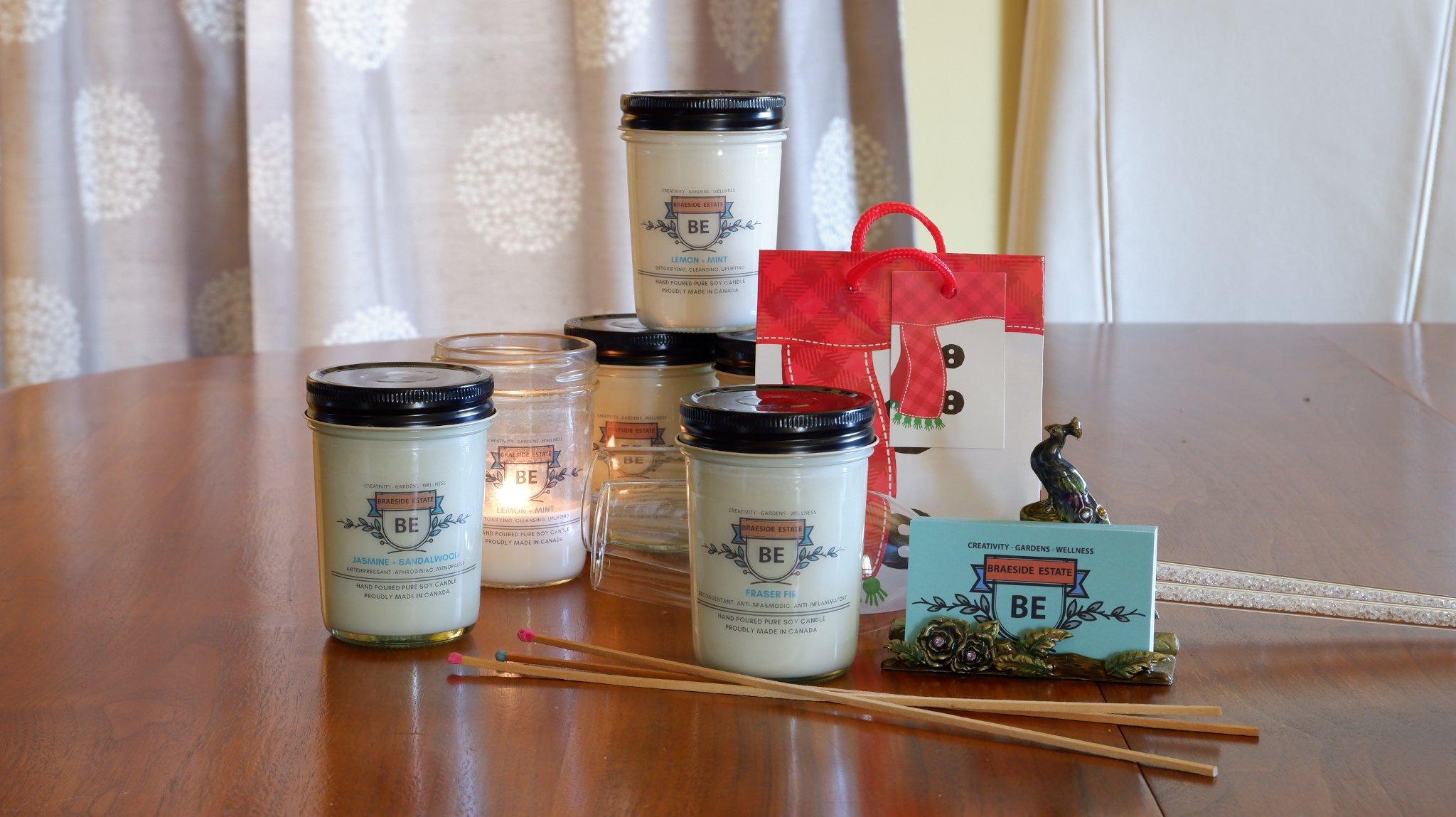 Braeside Estate Aromatherapy Candles