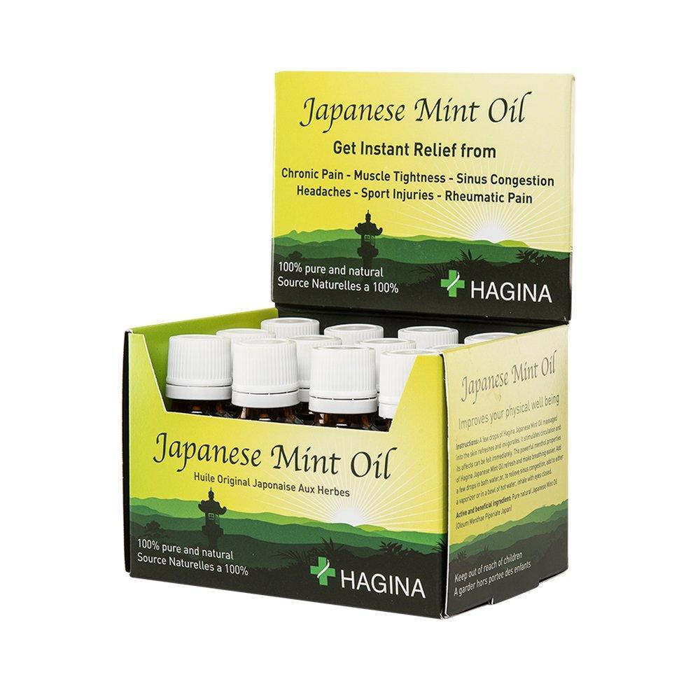 HAGINA 100% Pure Japanese Mint Oil