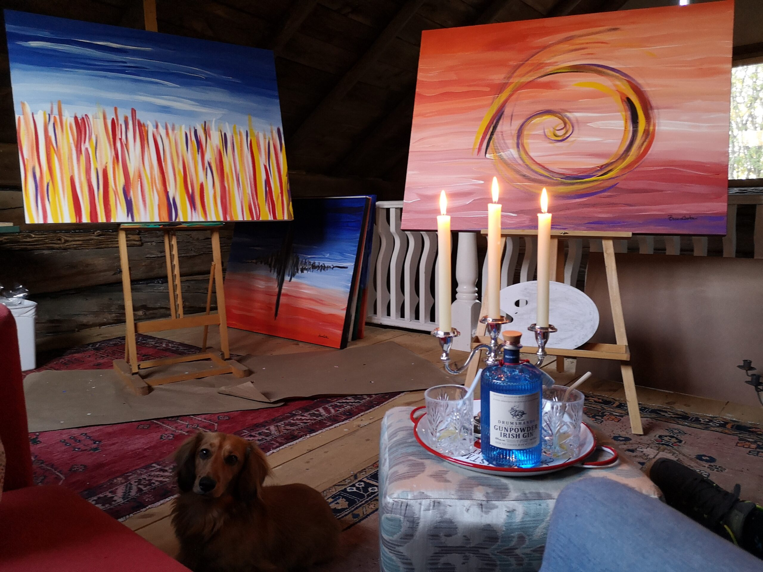 Artist Studio at Braeside Estate