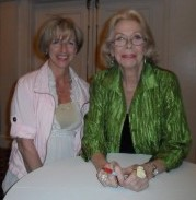 Julie Moore-Cantieni and Louise Hay-San-Diego